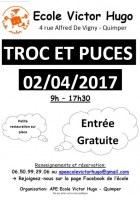 Troc et puces - Ecole Victor Hugo - 02/04/2017