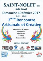 56 : Saint-Nolff - 2e Rencontre artisanale et créative