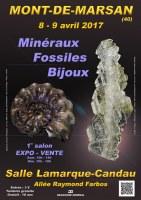 1er SALON MINERAUX FOSSILES BIJOUX de MONT-DE-MARSAN - LANDES - NOUVELLE AQUITAINE - FRANCE