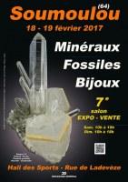 7e SALON MINERAUX FOSSILES BIJOUX de SOUMOULOU - PYRENEES-ATLANTIQUES - NOUVELLE AQUITAINE - FRANCE