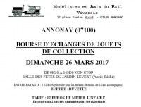 BOURSE D'ECHANGES DE JOUETS DE COLLECTION
