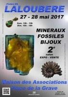 2e SALON MINERAUX FOSSILES BIJOUX de LALOUBERE - HAUTES-PYRENEES - OCCITANIE - FRANCE