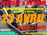 CLASSIC' & KUSTOM bourse d'échange auto-moto à Velleron