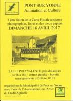 3ème Salon Cartes Postales anciennes, photographies, livres et vieux papiers