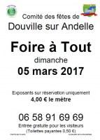 loto annuel DOUVILLE SUR ANDELLE 05/03/2017