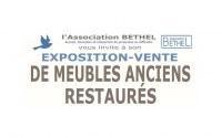 Exposition - vente de meubles anciens restaurés