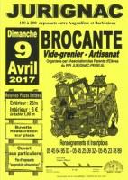 Brocante Dimanche 09 avril 2017