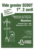 Vide Grenier Scout et Guides de France