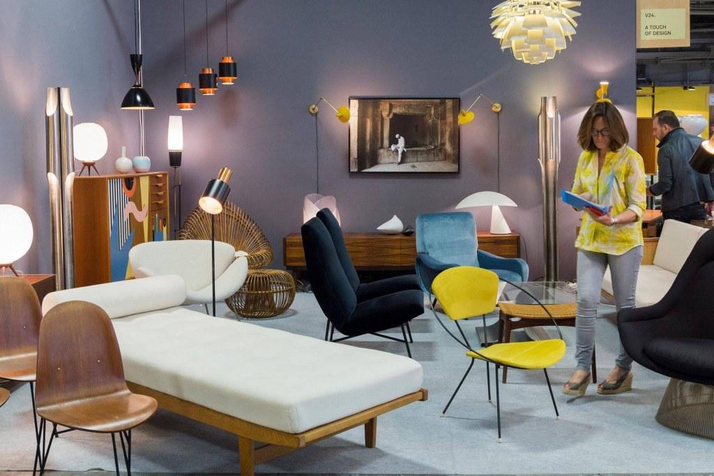 Les puces du design le salon du design vintage et for Les puces du design