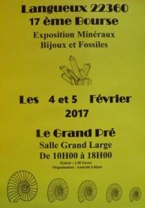 17ème Bourse exposition de minéraux et fossiles