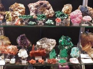 20ème Bourse exposition de minéraux, bijoux, gemmes et fossiles, trésors de la terre