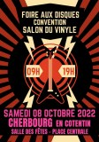 FOIRE AUX DISQUES / CONVENTION SALON DU VINYLE cherbourg