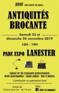 Salon antiquités brocante design vintage PARC EXPO LORIENT AGGLO