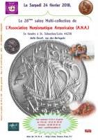 LE 26ème Salon Multi-collection de L'Association Numismatique Armoricaine (A.N.A.)