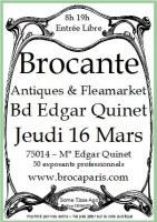 Antiquités-Brocante-Vintage Edgar Quinet
