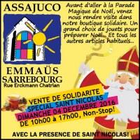 Marché aux puces de Solidarité Spécial St Nicolas