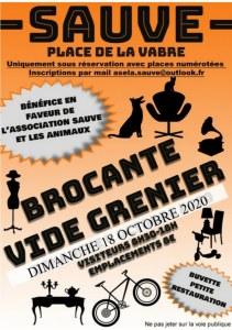 BROCANTE - VIDE GRENIER de l automne du dimanche 18 octobre 2020 au profit de l'associa...