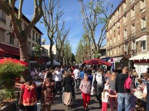 Brocante de printemps à Aulnay-sous-Bois
