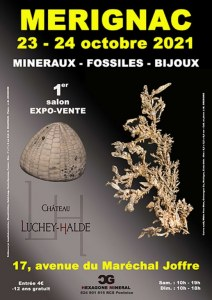 1er SALON MINERAUX FOSSILES BIJOUX de MERIGNAC (Gironde)