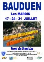 Bauduen accueille les marches nocturnes de juillet