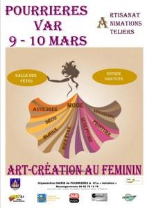1 er salon Creations au Feminin