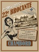 22e brocante de Chambord
