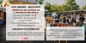 BROCANTE - VIDE GRENIER de l automne du dimanche 31 octobre 2021 au profit de l'associa...