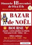 Bazar de Noël : bourse jouets livres ski vélos, ...