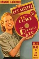 14 ème Foire aux Disques et BD
