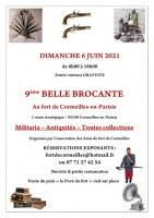 9ème BELLE BROCANTE dans le Fort de Cormeilles en Parisis