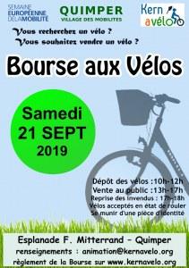 29 : Quimper - Bourse aux vélos d'occasion