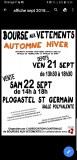 29 : Plogastel-Saint-Germain - Bourse aux vêtements, articles de puériculture automne...