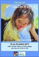 50 : Pirou - L'art en soi : 8e salon d'art, peinture sculpture photo
