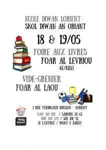 56 : Lorient - Bourse aux livres et troc et puces