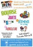 14 : Rots - Bourse aux jouets, puériculture et vêtements de 0 à 12 ans