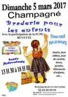 72 : Champagné - Braderie pour les enfants