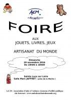 44 : Sainte-Luce-sur-Loire - Foire aux jouets, jeux et livres