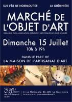 85 : La Guérinière - Marché de l'objet d'art, appel aux créateurs
