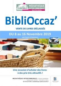 72 : Sablé-sur-Sarthe - Biblioccaz' - vente de livres déclassés