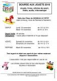 72 : Oisseau-le-Petit - Bourse aux jouets du centre social de la Haute Sarthe