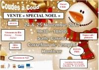 14 : Honfleur - Vente spéciale Noël, vêtements de fête et accessoires, jouets.