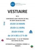 44 : Saint-Gildas-des-Bois - Vestiaire braderie