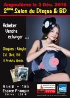 2ème Salon du Disque et BD d'Angoulême