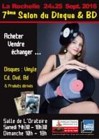 17 : 7ème Salon du Disque et BD de La Rochelle - La Rochelle