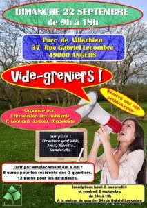 Vide-greniers organisé par l'association des habitants