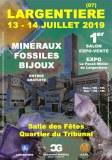 1er SALON MINERAUX FOSSILES BIJOUX de LARGENTIERE - ARDECHE - AUVERGNE-RHONE-ALPES - FR...