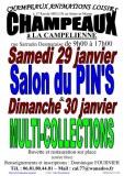 Salon du Pin's le 29/01/2022 à CHAMPEAUX (77)