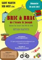 Bric à Brac de l'école St Joseph