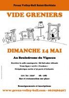 Vide-greniers annuel de Preux Volleyball Saint-Herblain