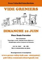 Vide-greniers de Preux Volleyball